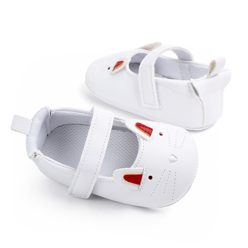 2019 New Autumn baby shoes kid boy girl bunny lace cotton first assist non slip soft bottom cute children toddler shoes in First Walkers from Mother Kids