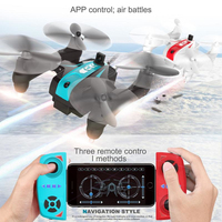 2pcs 2.4G 4CH 6 Axis RC Quadcopter Remote Control Drone Mini Quadcopter Infrared Dual Machine Battle Helicopter kid best gift to