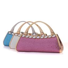 European Newest Fashion Diamond Evening Bags,sexy Elegant Dinner clutch,party women bag noble women handbag,women clutch