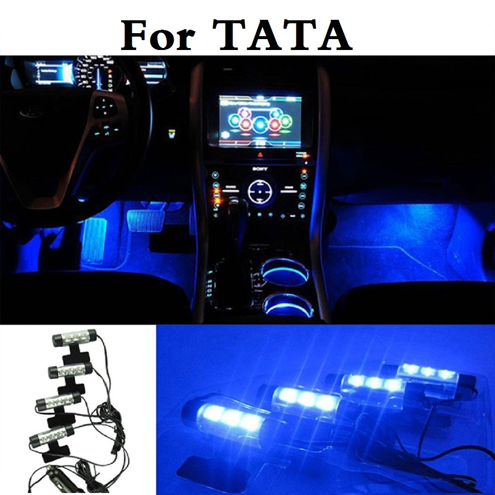 car style accessories interior decorative atmosphere light lamp for tata aria indica indigo nano. Black Bedroom Furniture Sets. Home Design Ideas