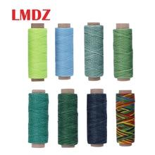 LMDZ 150D 50 м швейная нить восковая линия DIY Ручная работа износостойкая кожа швейная плоская восковая нить DIY инструмент для рукоделия швейные нитки