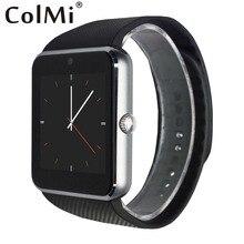 GT08 Notificador de Sincronización Del Reloj Inteligente Tarjeta de la Ayuda Sim Conectividad Bluetooth de Apple iphone Android Teléfono Inteligente Reloj