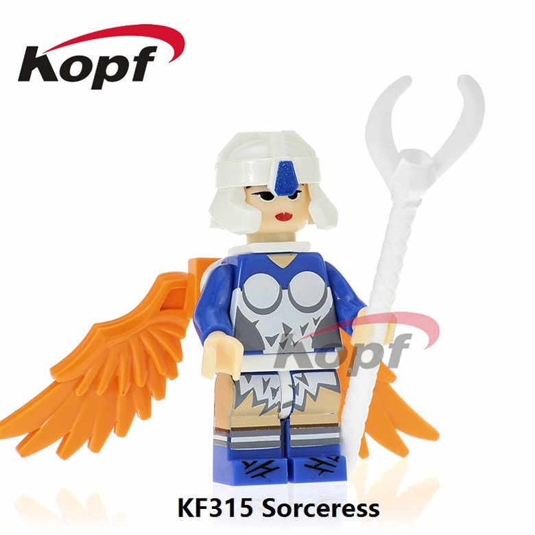 KF8010 vente unique blocs de construction trj-klops Ram-Man Man-At-Arms Faker Sorcerss He-Man Action briques Figures enfants jouets