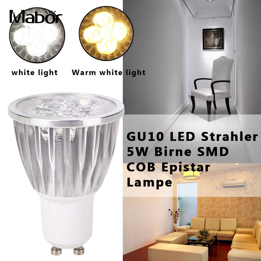 Spotlight Bulb Room Lighting LED Bulb Eco-Friendly White/ Warm White Energy Saving Party Supply Lighting Fixture