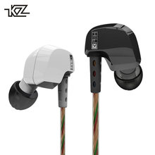 KZ HD9 Earphones HiFi Sport Earbuds Copper Driver 3D Heavy Bass Earhook Headphones In Ear Earphone For Running With Microphone(China)
