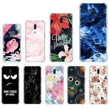 Anti-knock Soft Phone Case For Oppo Reno Z 6.4 inch Colorful Design Ba