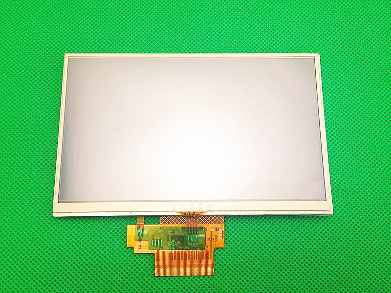 Original 5 inch TFT LCD Screen for TomTom VIA 4ER51 Z1230 full display Screen panel with Touch screen digitizer replacement 3 5 tft lq035q7dh06 lcd screen display with touch screen digitizer for mc7090 mc7094