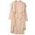 Escudo Fosa de las mujeres 2016 Del Otoño Del Resorte de Abrigo Femenino de Las Mujeres de La Vendimia Larga Delgada Windvreaker Solid Cardigan Outwear
