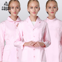 2018 Nurse Uniform Hospital Medical Lab Coat Pharmacy Work Uniforms Drugstore Dress Women Beauty Salon SPA Workwear Overalls
