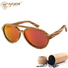 Hot Sale Wood Sunglasses Retro Frame Polarized Driving Sun Glasses Handmade Wooden Unisex Glasses For Men Women W3038