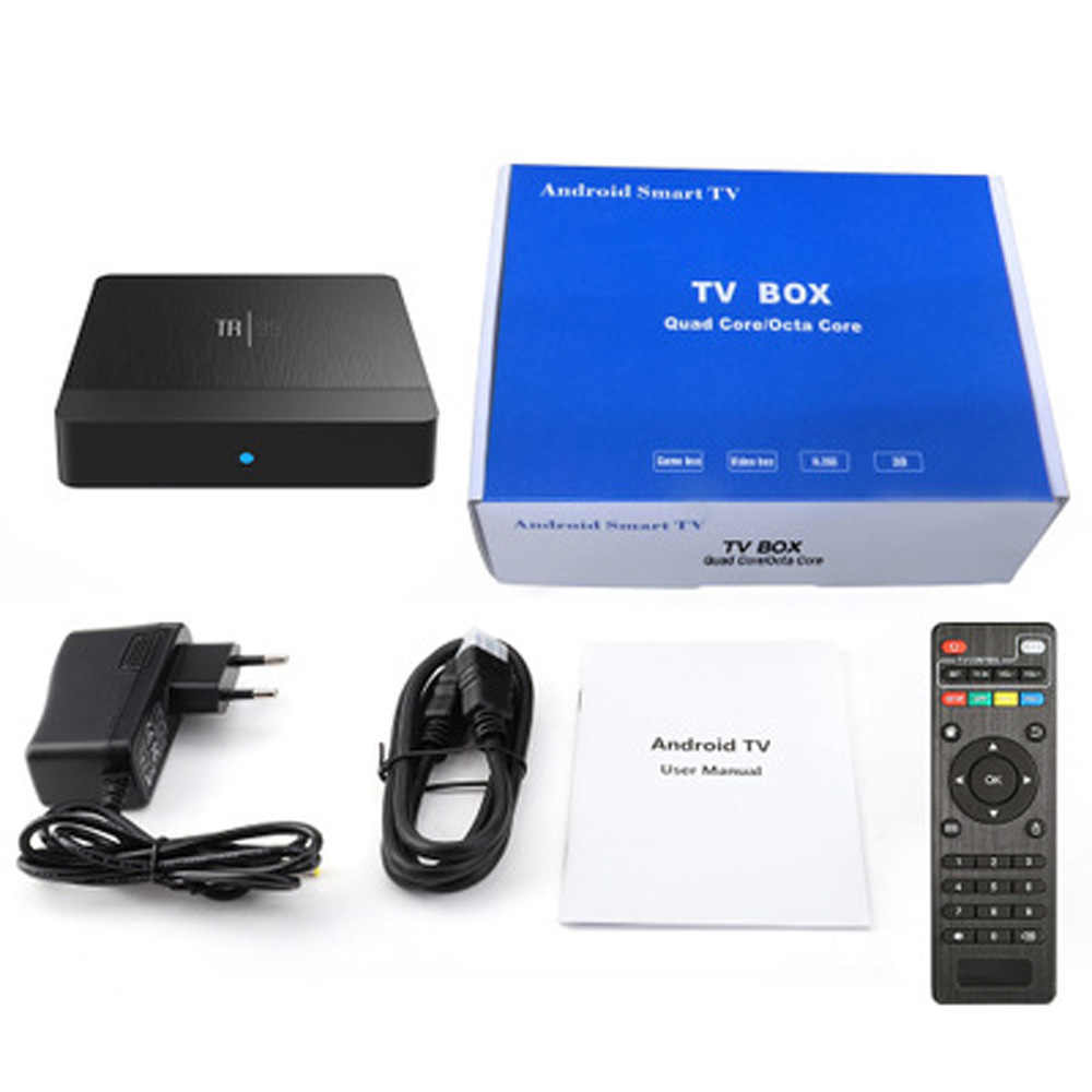 Transpeed TR99 X2 Android 9.0 Smart TV BOX Google Voice Trợ Lý Amlogic S905X2 4GB 64GB Wifi nhanh Bluetooth 4K 3D Top box IPTV