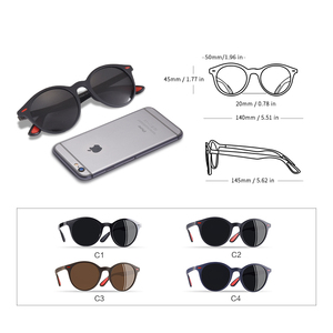Image 5 - AOFLY מותג עיצוב גברים משקפי שמש מקוטב סגלגל מסגרת משקפי שמש נשים גברים בציר יוניסקס משקפי Oculos דה סול AF8112