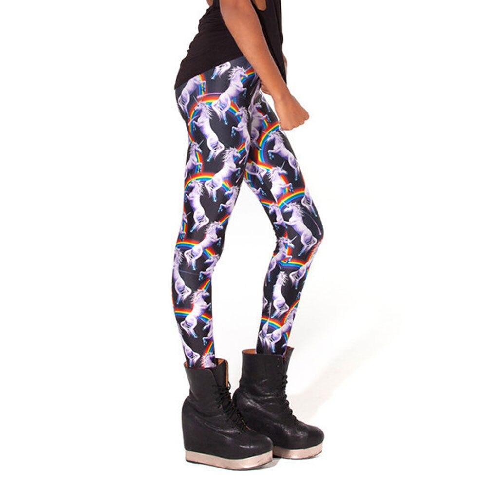 72af45e5957dbc Pantalones Mujer Women Fashion 3D Rainbow Unicorn Animal Leggings Printing  Milk Vintage Plus Size Leggings Leggins-in Leggings from Women's Clothing  on ...