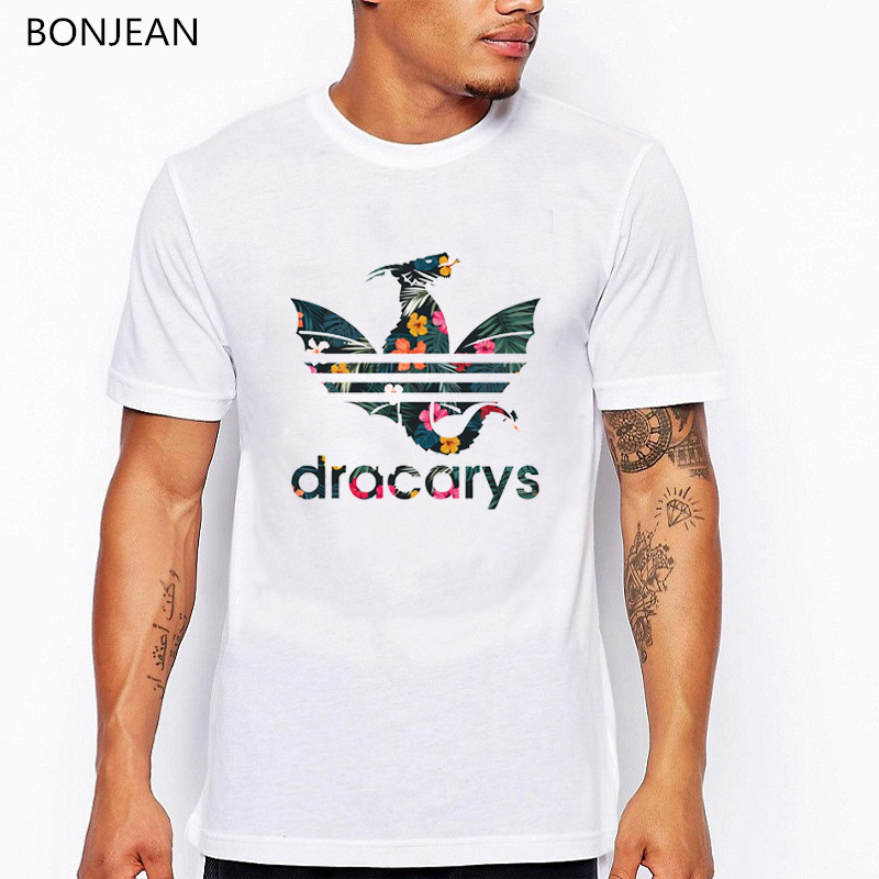 Dracarys T Shirt For Men/Women Game Of Thrones Aesthetic Tshirt Mother Of Dragon Harajuku Clothes Tee Shirt Homme Summer Tops