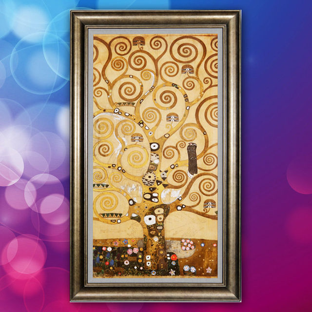 Online Shop DIY 5D Full Diamond Painting Tree of life Stone Pictures ...