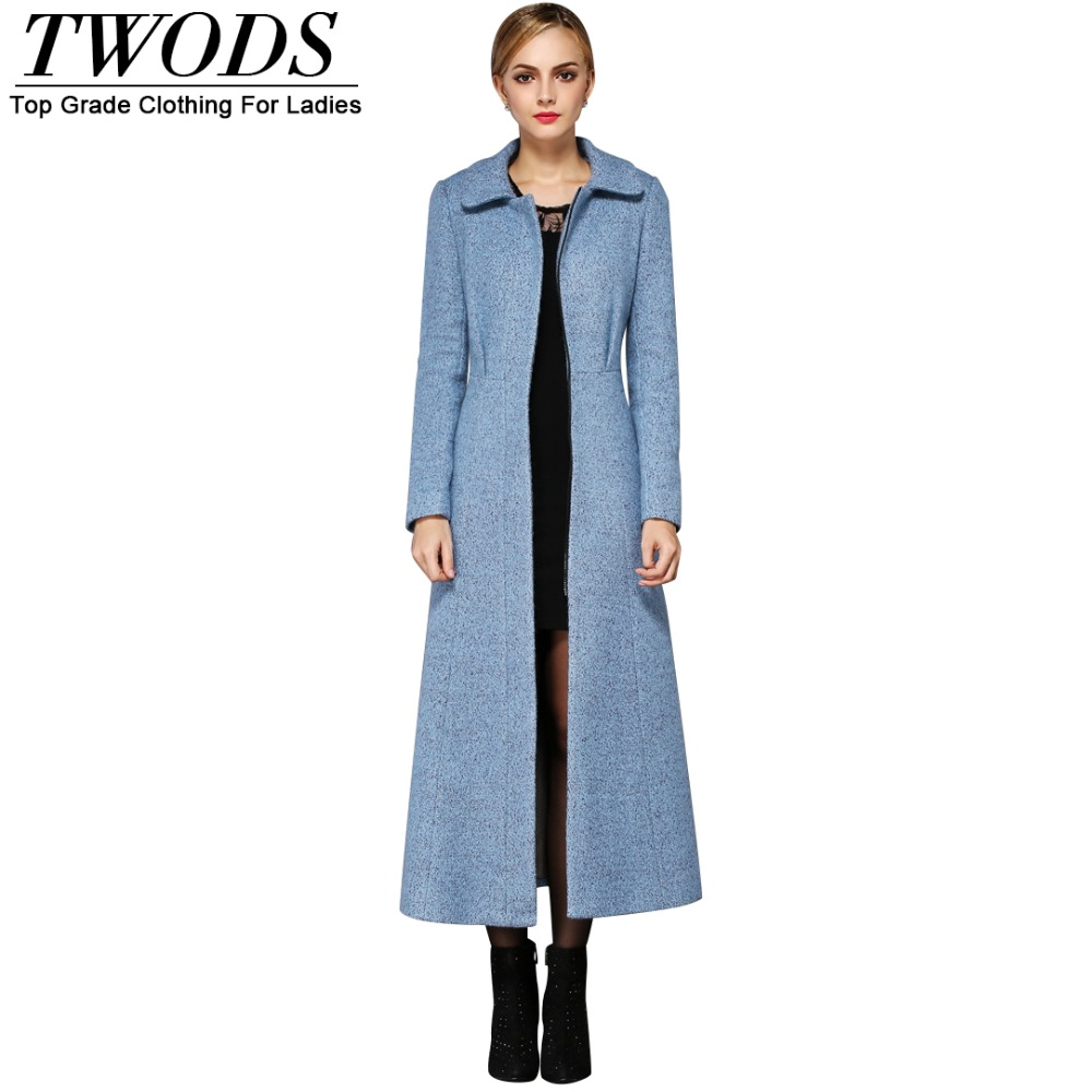 Blue Trench Coat Fashion Royal Blue Wool Winter Coats for Women Woolen Material Lauren Ralph Lauren Wool Blend Reefer Coat (Regular & Petite) A line reasonarchivessx.cf I'm totally in love with pale blue at the moment!