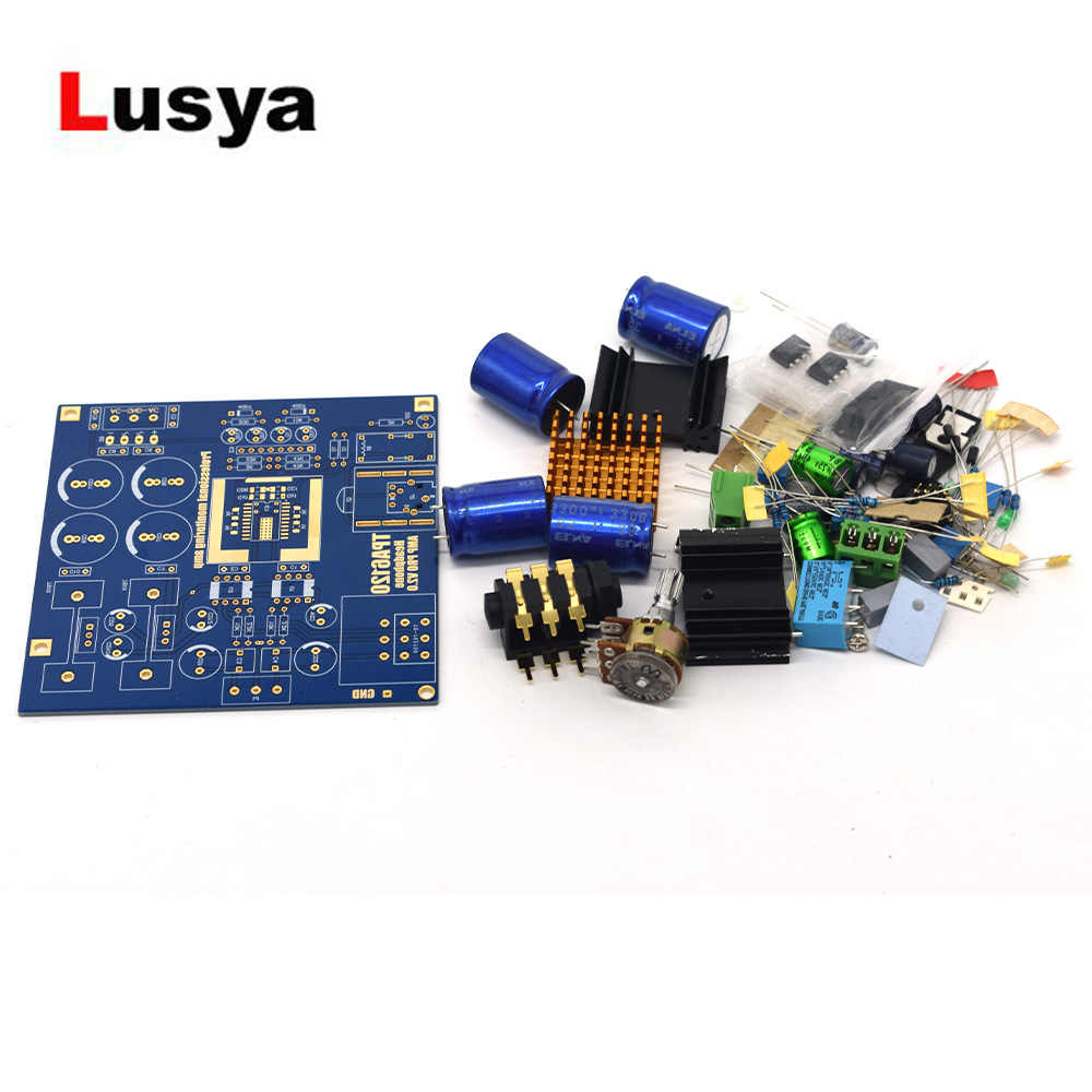 TPA6120A2 Headphone Amplifier Board Ear AMP Amplificador DIY kit / Finished Board A8-011