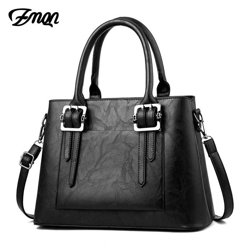 ZMQN Fashion Bag For Women Leather Handbag Famous Brand Luxury Handbags Women Bags Designer 2018 Crossbody Bag Ladies Black B710 summer mini chain bag handbags women famous brand luxury handbag women bag designer 2018 crossbody bag for women purse bolsas