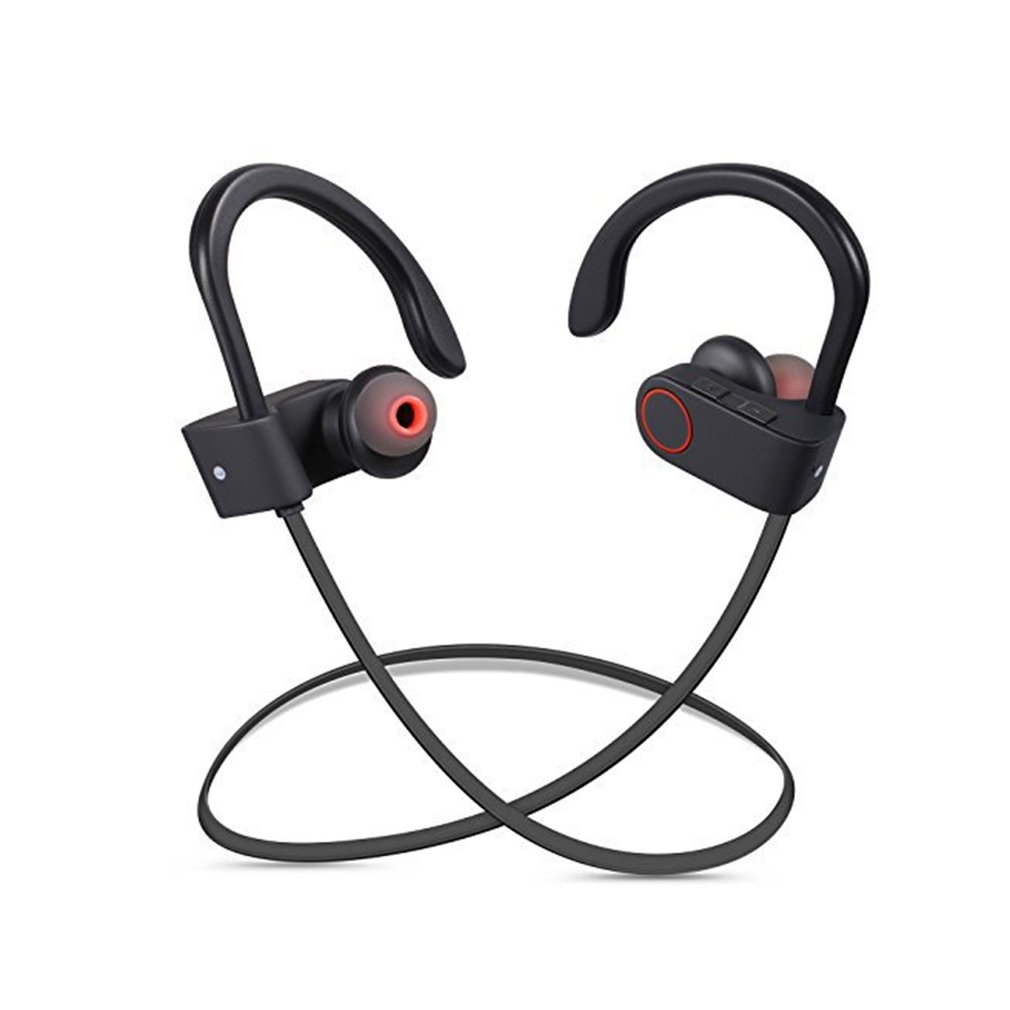IPX7 Waterproof Bluetooth Headphones Running Sports Wireless Bluetooth Earphone Music Control Noise Reduction Headset with Mic