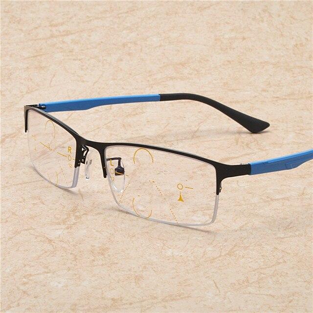 899edc5919 MINCL/Bifocal gafas de lectura para hombre lentes multifocales progresivo  Unisex gafas de lectura progresiva