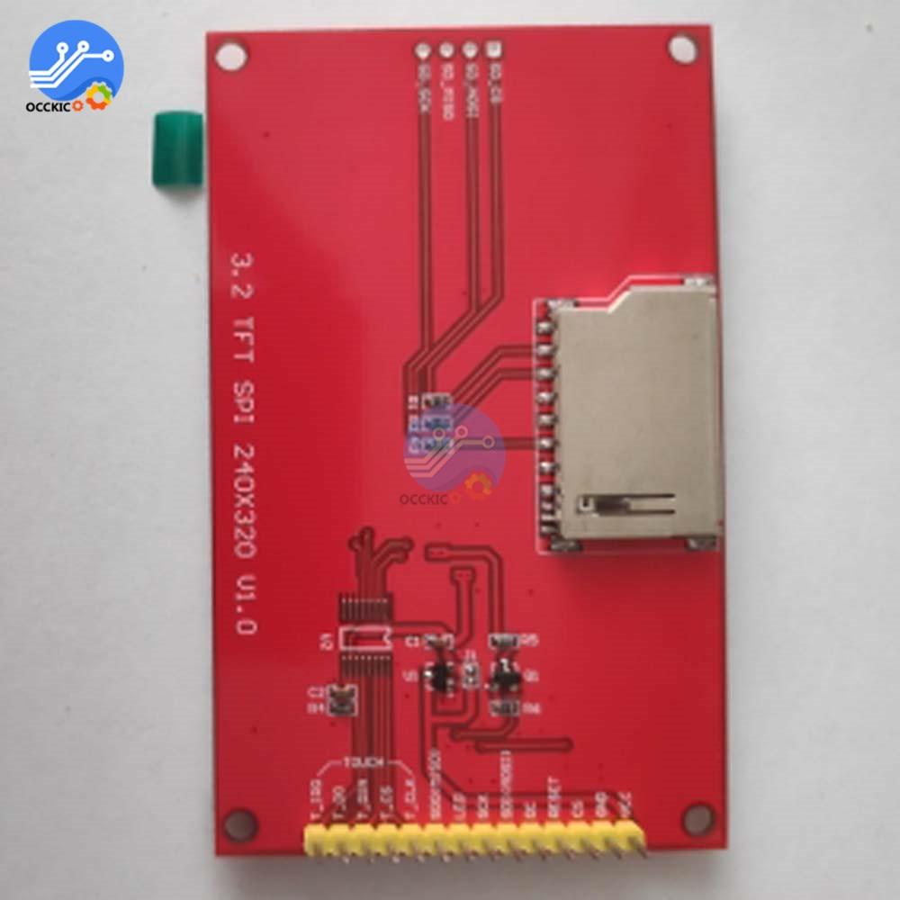 3,2 дюймов 320*240 ЖК-экран модуль дисплея SPI серийный TFT экран с сенсорной панелью Драйвер IC ILI9341 контроллер для MCU