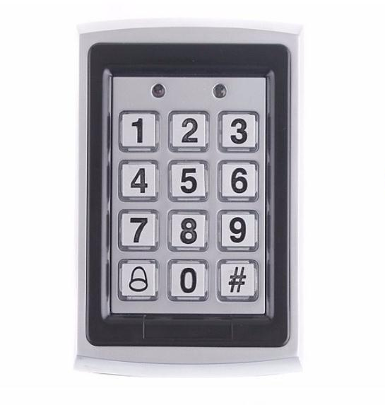 rfid lock system door Support 1000 standard users Metal Password Keypad RFID Card Door Access Controller with English Manual good quality metal case face waterproof rfid card access controller with keypad 2000 users door access control reader