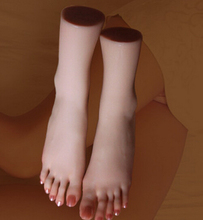 SIZE 39 Top Quality New Sex Products,Soft Feet Fetish Toys for Man,Young Girl Lifelike Female Feet,Fake Feet Model for Sock Show