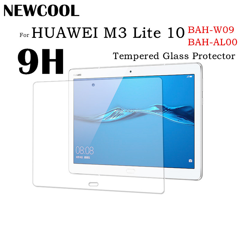 Tempered Glass For Huawei MediaPad M3 Lite 10.0 10 10.1 BAH-L09 Clear Protective Film Explosion-proof Tablet Screen Protector screen protector for huawei y7 prime high clear premium tempered glass