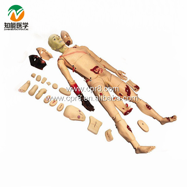Full Functions Trauma Nursing Manikin BIX-H111 WBW026 bix h111 medical science education model full functions trauma nursing manikin w187
