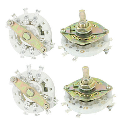 4PCS Band Channael Rotary Switch 2P3P 2 Pole 3 Position Single Deck свитшот print bar dino gnar page 8