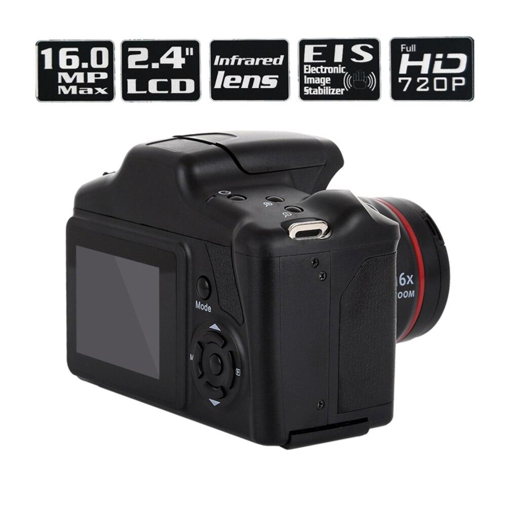 2019 caméscope vidéo HD 1080 P appareil photo numérique portable 16X Zoom numérique 10 #