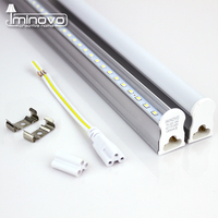 IMINOVO LED Tube T5 Integrated Light AC110V 220V LED Fluorescent 60CM 2FT 10W Milky Cover Cold