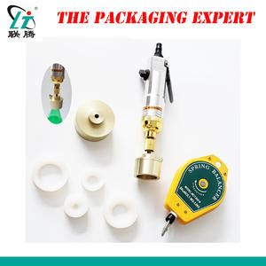 Pneumatic Bottle Capping Machine Hand Held Screwing Capper Manual Driver Cover Manual Model Bottle Lid Tighter Free Shipping