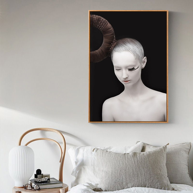 Art Body Nordic Poster and Print Black White Modern Canvas Painting Abstract Wall Art Picture Girls Bedroom Home Decoration in Painting Calligraphy from Home Garden