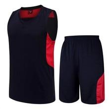 Nueva Running Camisetas Profesionales Masculinos Traje Ropa de Baloncesto Transpirable Monocapa Camiseta de Baloncesto Respirables Hijos Adultos