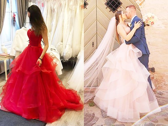 New Arrival Sweetheart Neck Tulle Lace Up Long Wedding