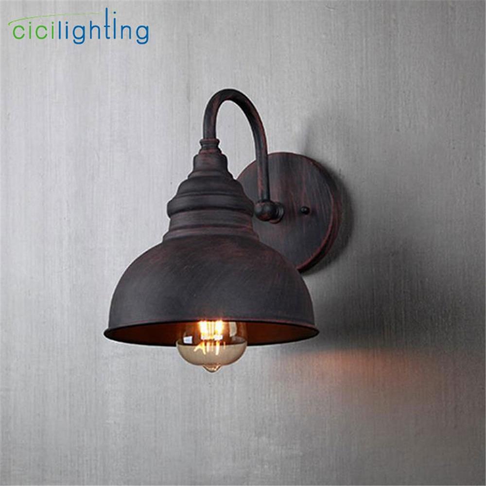 Retro outdoor wandlamp, gunstige europa villa blaker lamp, waterdichte buitenkant tuin doorway licht vintage entree veranda lamp