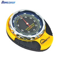 4 in 1 Mini Compass Travel Kits Digital Altimeter Thermometer Barometer Outdoor Camping Equipment Hiking Climbing tools