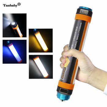 Portable Outdoor Camping Flashlight IP68 Waterproof Rechargeable Battery Powerbank SOS Emergency Led Light 6 mode - DISCOUNT ITEM  15% OFF All Category