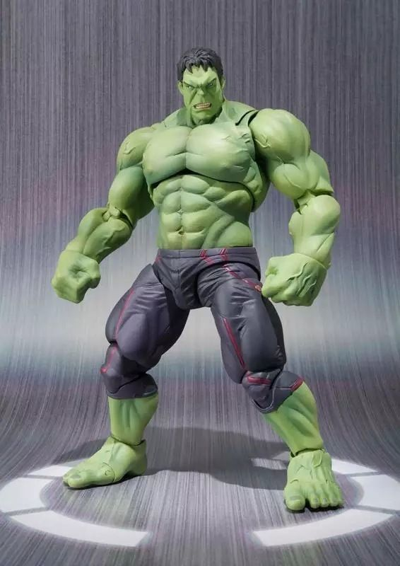 New PVC  16cm Marvel Avengers Hulk Action Figure Collectable Model Muscle Man Superman Crazy Toy