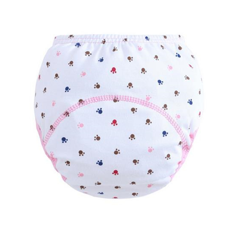 30Pc/lot Baby Kid Training Pants Cloth Diapers Learning Pants Soft Comfortable Cotton Baby Nappy Suit 5--15kg