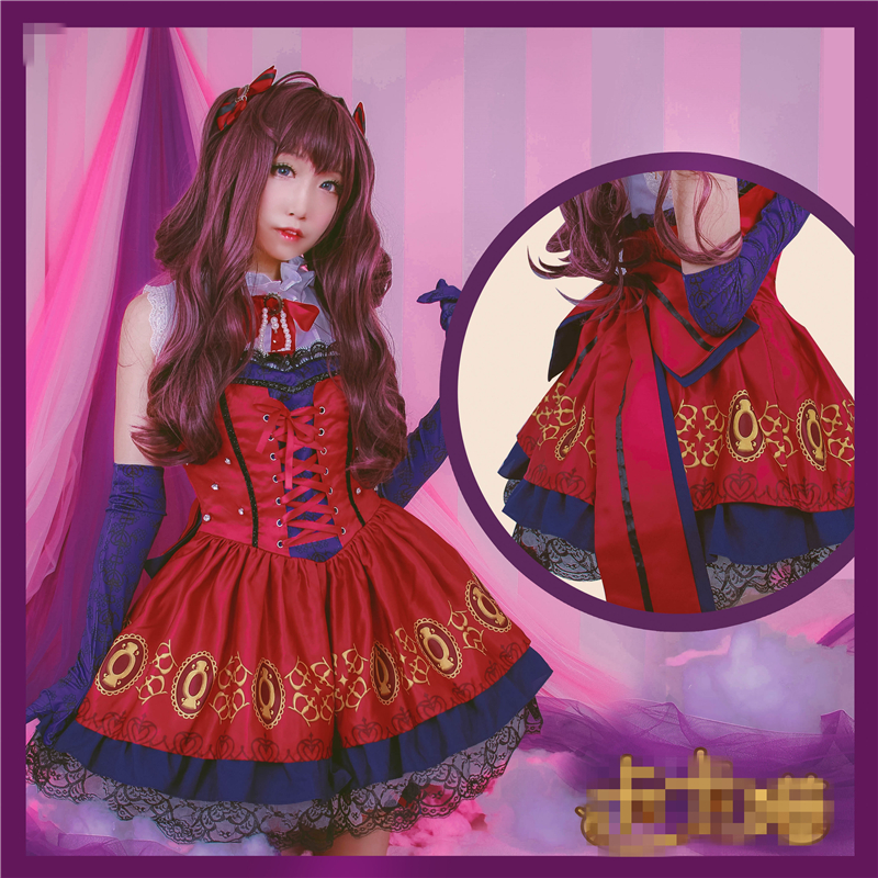 THE IDOLM@STER Cinderella Girls Ichinose Shiki Maid Dress Halloween Uniforms Cos Cosplay Costume