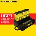 Nitecore originais ugp3 gopro carregador de bateria 5 v carregador de bateria lcd para gopro hero3/3 + para ahdbt-201-301 ahdbt ahdbt-302