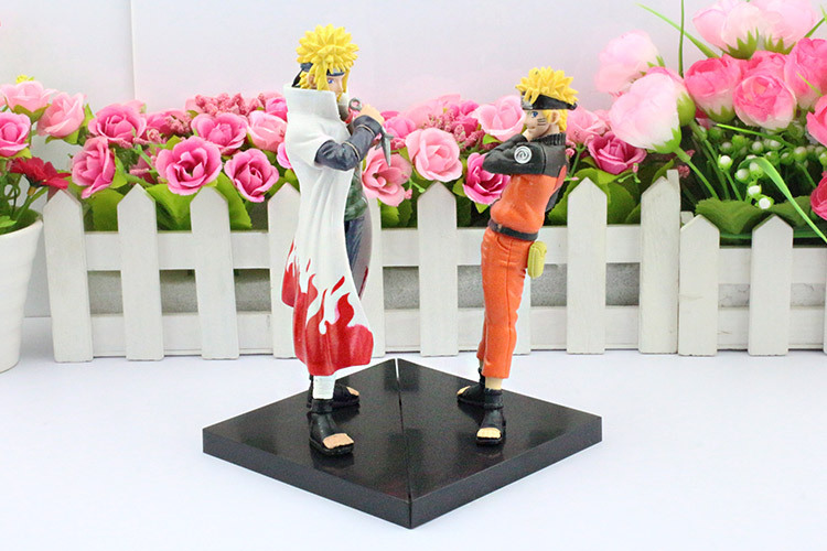 Minato Figure Face to face Naruto figure