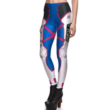 New 3790 Sexy Girl Blizzard fighting Game Cosplay Printed Elastic Fitness Polyester Workout Women Leggings Pants Plus Size