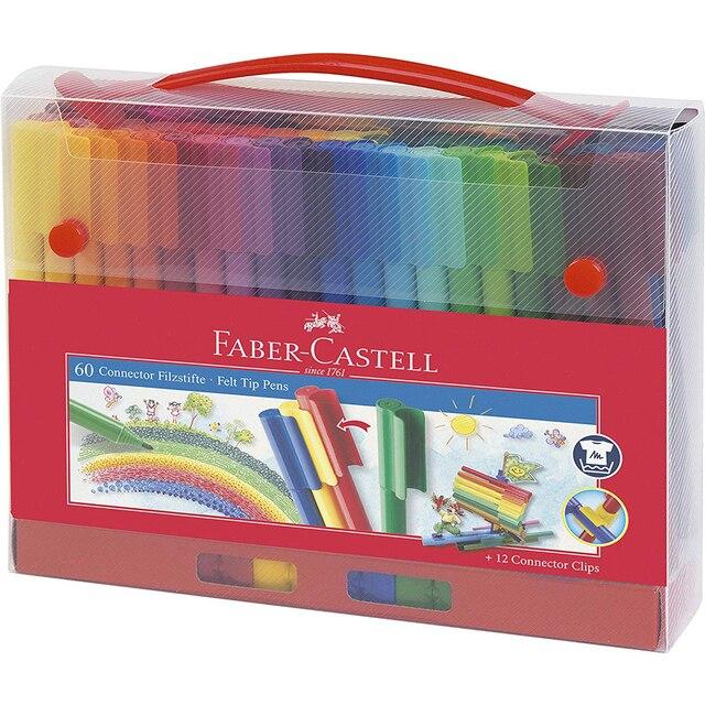 80 Kleur Art Marker Pen Connector Fibre Tip Pen Kids Water Kleur Pen Aquarel Colouring Tekening Pennen Voor Kinderen Doodling