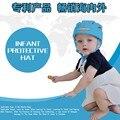 2016 100% Бренд Младенческой защитный шлем с GB18401-2010 утвержден Хлопка Защитный Шлем Для Детей Защитный Колпачок Для Мальчики Девочки Hat
