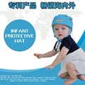 2016 100% Marca Infantil del sombrero de protección con GB18401-2010 aprobado Tapón de Seguridad Casco de Seguridad Para Bebés de Algodón Para Niños Niñas Sombrero
