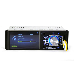 Image 2 - 4012B 1Din 12V 4.1inch Radio Tuner BT  MP4/MP5 Vehicle player Vehicle MP5 multifunctional player BT MP3 player