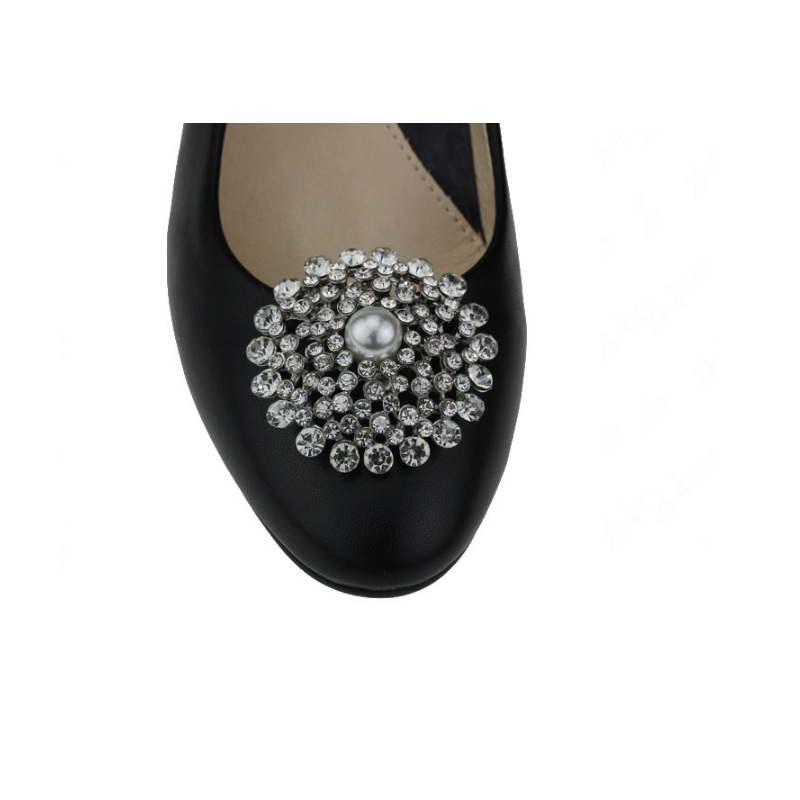 88ebbb149e0e6 US $183.3 6% OFF|25pairs Women shoes flower shoe buckle Strass crystal  rainestone shoe charms accessories flats heel high pumps bags fixed  clips-in ...